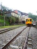 Jintong, Taiwan - estação de caminhos-de-ferro Fotografia de Stock