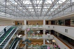 jinyan旅馆的霍尔 库存照片