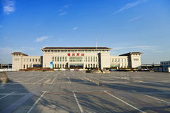 Jinzhou City, Liaoning Province, China High Speed ??Rail South Station Stock Photography