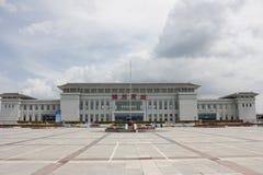 Jinzhou södra station Royaltyfri Foto
