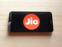 Jio app στοκ εικόνες