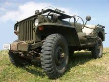 Jipe do exército dos EUA fotos de stock