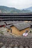 Jiqing Lou i den ChuXi klungan - Fujian landskap, Kina Royaltyfri Bild