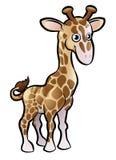 Jirafa Safari Animals Cartoon Character Foto de archivo