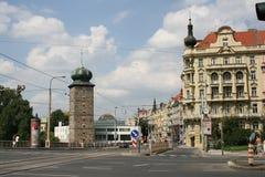 Jiraskovo kwadrata _Praga Zdjęcia Royalty Free