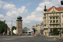 Jiraskovo Square _ Prague Royalty Free Stock Photos
