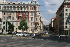 Jirasek Square _ Prague_I Stock Photography