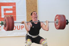 Jiri Gasior - weightlifting Stock Photo
