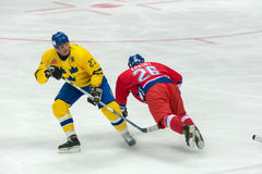 Jiri Krasny (26) and Tomas Eriksson (27) Stock Photography