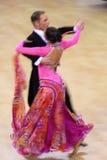 Jiri Liska & Mirka Navratilova - het standaard dansen Royalty-vrije Stock Afbeeldingen