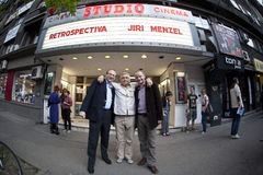 Jiri Menzel en Roumanie Photographie stock
