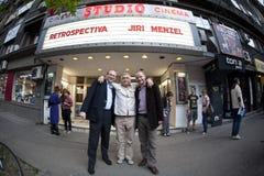 Jiri Menzel in Roemenië Stock Fotografie