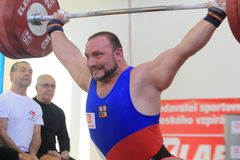 Jiri Orsag - weightlifting Stock Photography
