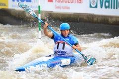 Jiri Prskavec - чемпионат мира слалома воды Стоковые Изображения