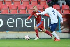 Jiri Skalak. PRAGUE 31/03/2015 _ Jiri Skalak. Friendly match Czech Republic U21 - Portugal U21 Royalty Free Stock Photography