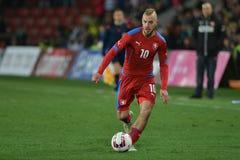 Jiri Skalak. PRAGUE 27/03/2015 _ Friendly match Czech Reublic U21 - England U21 Stock Photo