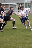 Jiri Skall in rugby match Royalty Free Stock Photography