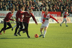 Jiri Stajner - Slavia Prag Stockfotos