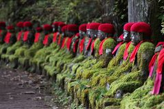 Jiso statues Royalty Free Stock Photography