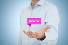 JIT Just-in-time- Fotografia Stock