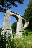 Jitin viaduct - Romania. Jitin viaduct, across the oldest railway in Romania Stock Photos