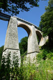 Jitin Viaduct - Rumänien stockfotos