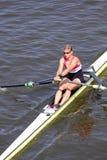 Jitka Antosova - 98.a raza del rowing de Primatorky Fotografía de archivo