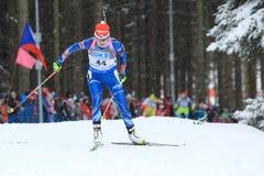 Jitka Landova - biathlon Royalty Free Stock Photos