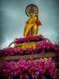 Jittapawan buddistisk skola - Thailand Royaltyfri Fotografi