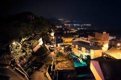 Jiu市分村庄 免版税库存图片