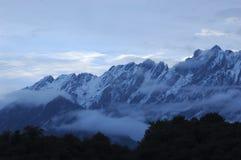 Jiu Ding berg Royaltyfri Fotografi