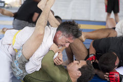 jiu jitsu Στοκ εικόνες με δικαίωμα ελεύθερης χρήσης