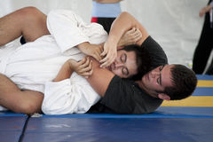 Jiu Jitsu Stock Photo