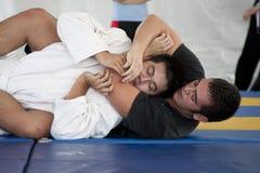 Jiu Jitsu Foto de Stock