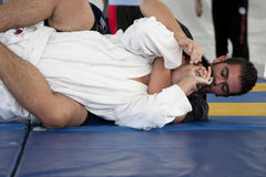 Jiu Jitsu Royalty Free Stock Photography