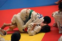 Jiu Jitsu drużyna przy Rumuńskim mistrzostwem, juniory, Maj 2018 Fotografia Stock