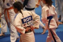 Jiu Jitsu drużyna przy Rumuńskim mistrzostwem, juniory, Maj 2018 Obraz Stock