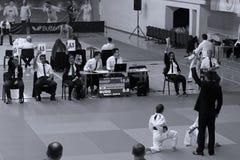 Jiu Jitsu dziewczyn wojownicy Zdjęcie Royalty Free