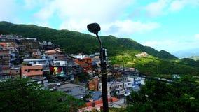 Jiufen är en bergstad i nordöstra Taiwan royaltyfri foto