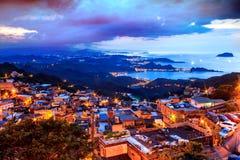 Jiufen, Тайвань стоковые изображения rf