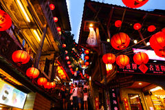 Jiufen镇 图库摄影