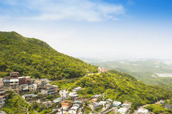 Jiufen, also known as Jioufen or Chiufen, Taiwan Stock Photo