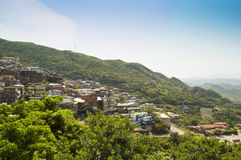 Jiufen, also known as Jioufen or Chiufen, Taiwan Stock Images