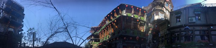 Jiu Fen Old Street Taiwan royalty free stock image