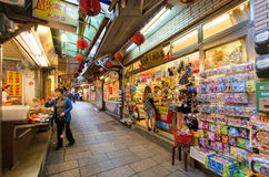 Jiufen Old Street,Taiwan Royalty Free Stock Photography