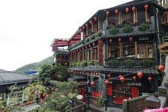 Jiufen street sight  Taipei  Taiwan . Stock Images