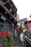 Jiufen street sight  Taipei  Taiwan . Royalty Free Stock Photo