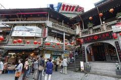 Jiufen street sight  Taipei  Taiwan . Royalty Free Stock Image