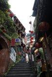 Jiufen street sight  Taipei  Taiwan . Royalty Free Stock Photography