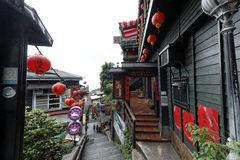 Jiufen street sight  Taipei  Taiwan . Royalty Free Stock Photos